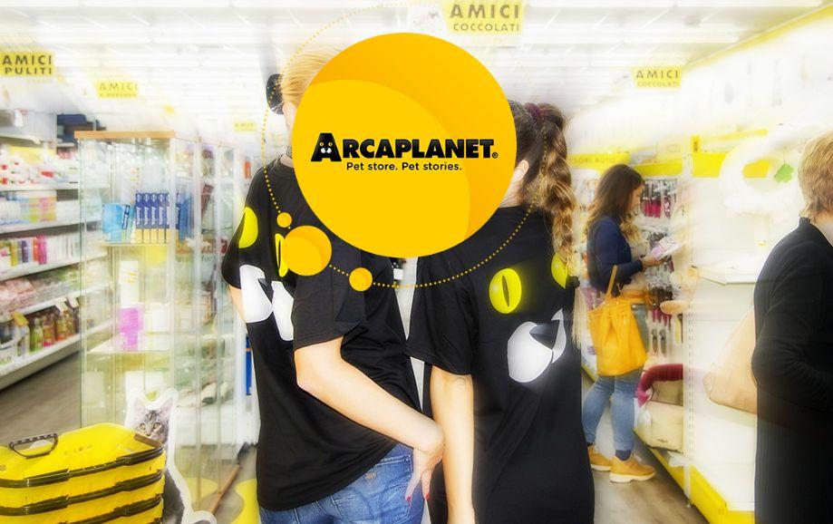 ArcaPlanet nota catena di negozi per animali seleziona ADDETTI/E VENDITA L. 68/99 per i punti vendita in Sardegna