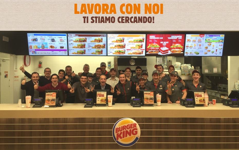 Burger King cerca personale per la sede di Cagliari - Addetto alla ristorazione/fast food