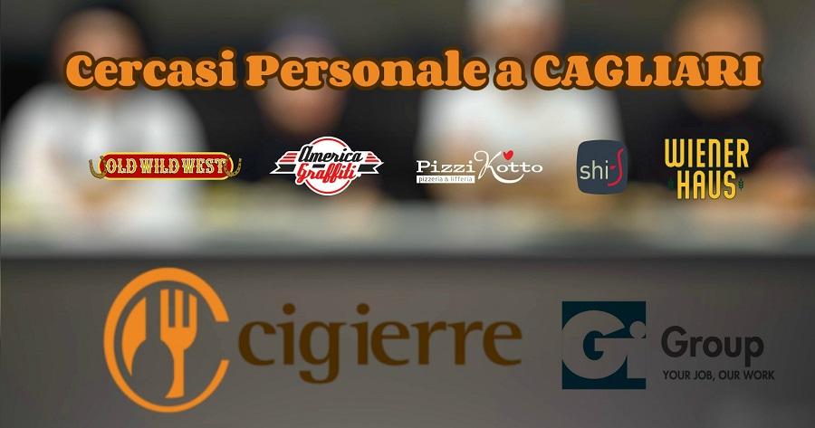 Cercasi personale di cucina da inserire presso il Gruppo Cigierre Ristorazione a Cagliari