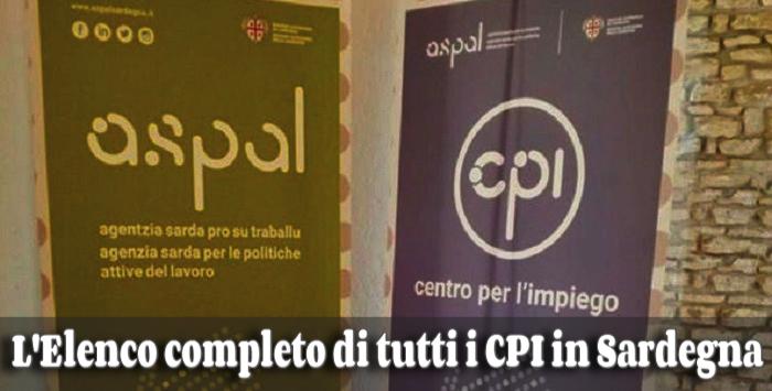 Tutti gli indirizzi, contatti ed orari dei Centri per L'impiego (CPI) in Sardegna