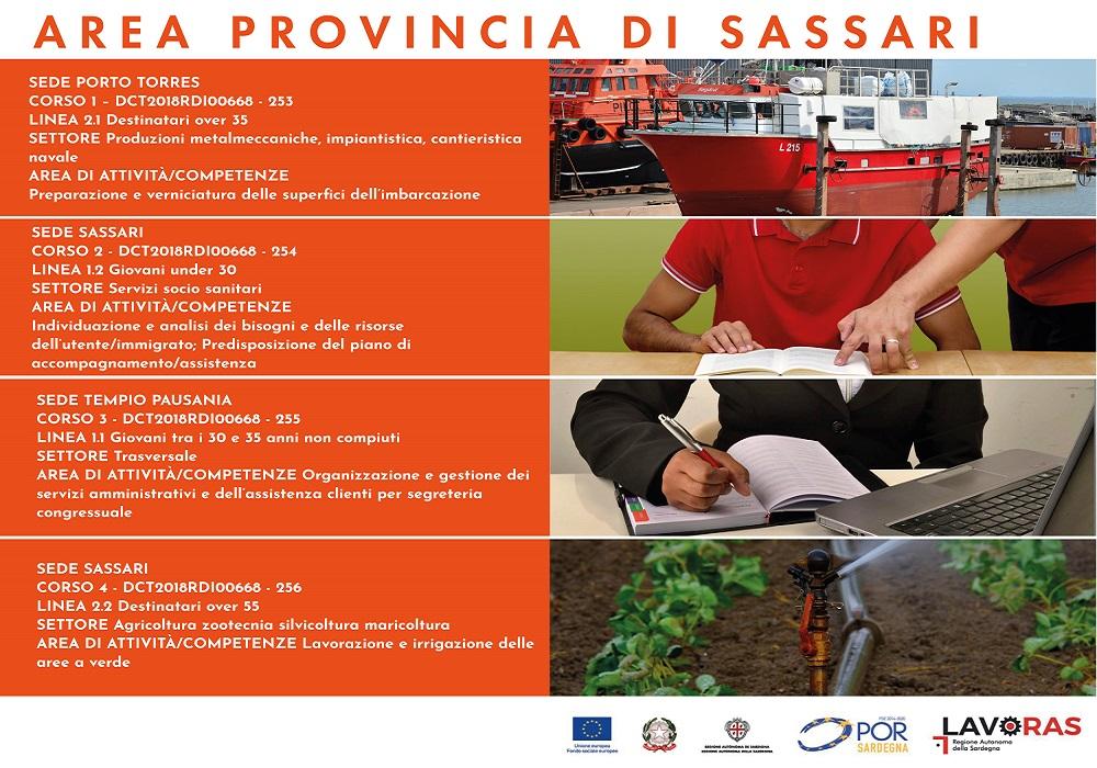Corsi di Formazione Gratuiti IpSar in Provincia di Sassari  VERNICIATURA  IMBARCAZIONI - ORGANIZZAZIONE DI EVENTI e IRRIGAZIONE VERDE 7ae2a82e4b6
